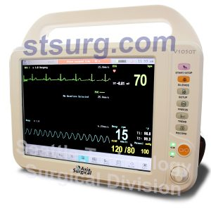 Axia V1050T Touch Screen Patient Monitor Multiparameter and ECG Monitors
