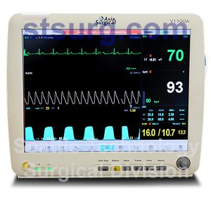 Axia V1500A Touch Screen Patient Monitor Multiparameter and ECG Monitors