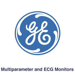 GE Multiparameter and ECG Monitors Logo