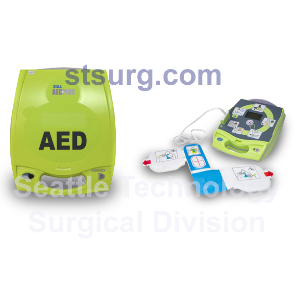 Zoll AED Plus Defibrillator - Seattle Technology: Surgical