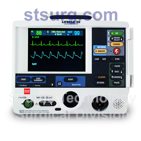 Physio-Control-Lifepak-20-Defibrillator