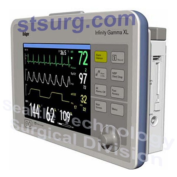 Drager-Infinity-Gamma-XL-ECG_Multiparameter-Monitor