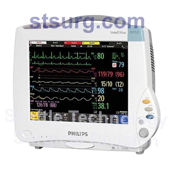 Philips-IntelliVue-MP50-Multiparameter-Monitor