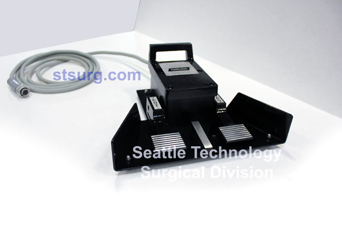 Our Process Seattle Technology Cut Coag foot Pedal