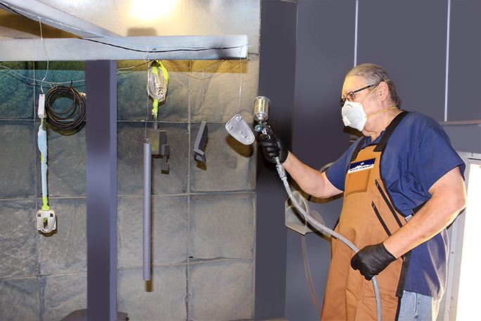 Our Process Seattle Technology Paint Booth